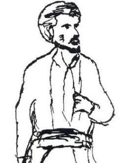 Émile Duval, dessiné par Maxime Lisbonne