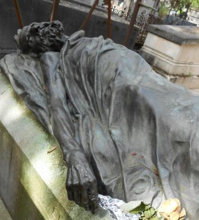 Tombe d'Auguste Blanqui au Père Lachaise (photo MA)