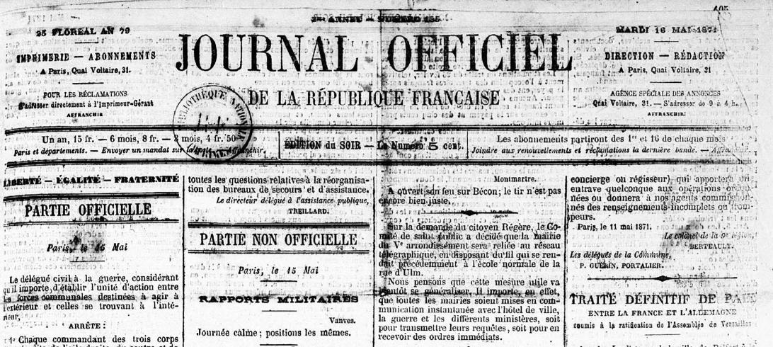 Le Calendrier Revolutionnaire.Non La Commune N A Pas 28 Le Calendrier Republicain Dans
