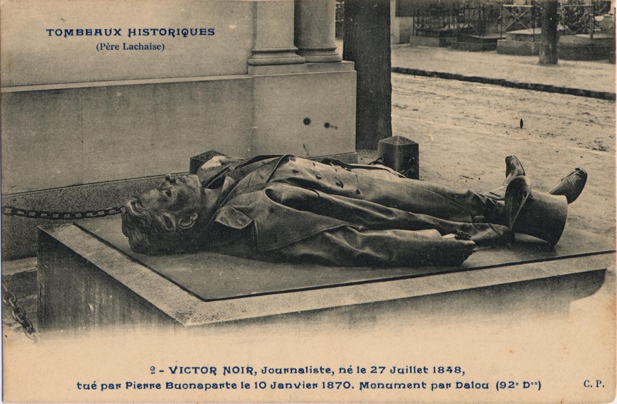 Connu Histoire du gisant Noir au zizi poli – La Commune de Paris UB27