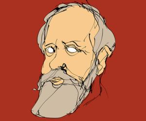 Eugène Pottier, par Éloi Valat