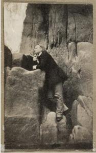 Victor Hugo, Rocher des proscrits, Jersey, 1853