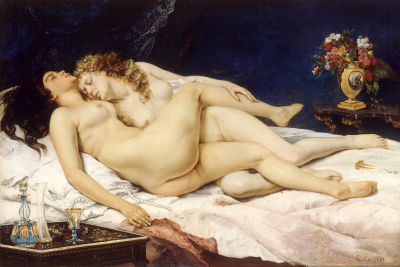 Gustave Courbet, Le Sommeil (1866)